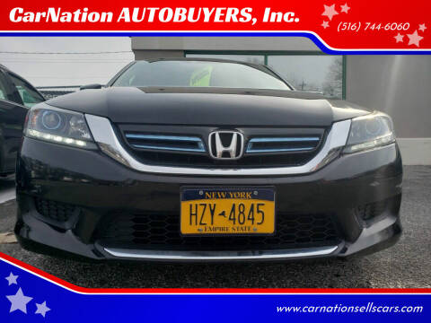2015 Honda Accord Hybrid for sale at CarNation AUTOBUYERS, Inc. in Rockville Centre NY
