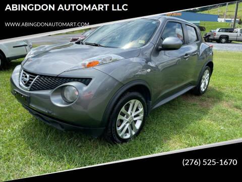 2013 Nissan JUKE for sale at ABINGDON AUTOMART LLC in Abingdon VA