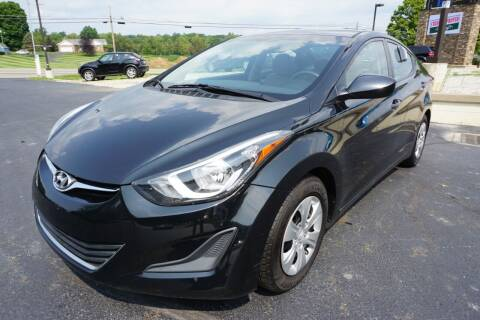 2016 Hyundai Elantra for sale at MyEzAutoBroker.com in Mount Vernon OH