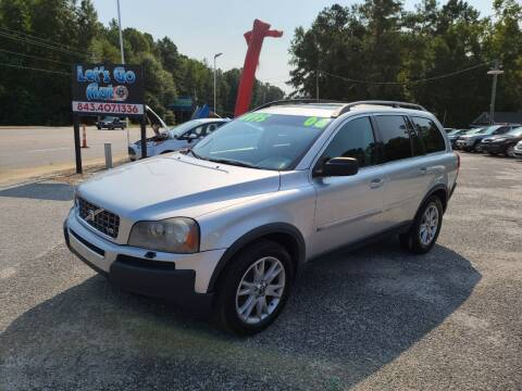 2006 Volvo XC90 for sale at Let's Go Auto in Florence SC