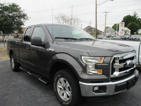 2016 Ford F-150 for sale at AUTO FACTORY INC in East Providence RI