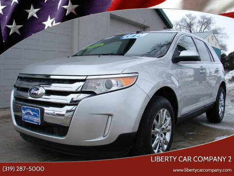 2012 Ford Edge for sale at Liberty Car Company - II in Waterloo IA