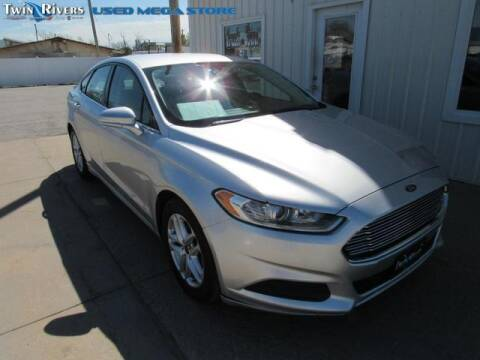 2013 Ford Fusion for sale at TWIN RIVERS CHRYSLER JEEP DODGE RAM in Beatrice NE