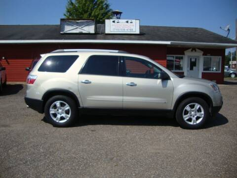 2010 GMC Acadia for sale at G and G AUTO SALES in Merrill WI