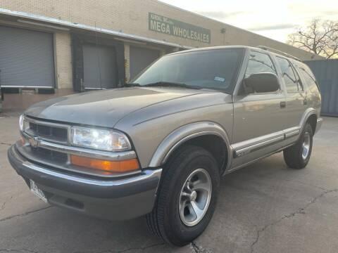 2000 Chevrolet Blazer for sale at Dynasty Auto in Dallas TX