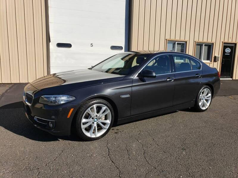 2015 BMW 5 Series for sale at Massirio Enterprises in Middletown CT