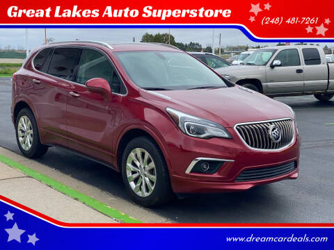 2017 Buick Envision for sale at Great Lakes Auto Superstore in Waterford Township MI