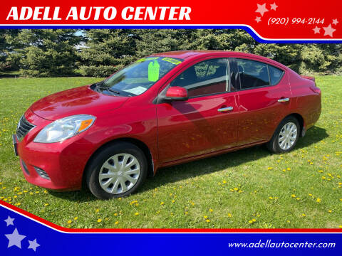 2014 Nissan Versa for sale at ADELL AUTO CENTER in Waldo WI