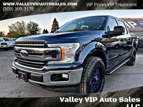 2018 Ford F-150 for sale at Valley VIP Auto Sales LLC - Valley VIP Auto Sales - E Sprague in Spokane Valley WA
