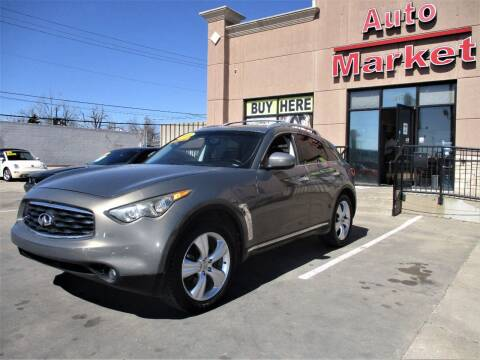 2011 Infiniti FX35 for sale at Auto Market in Oklahoma City OK