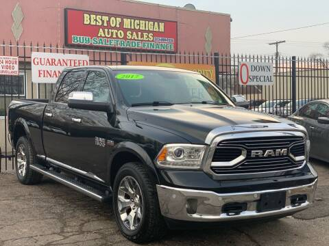 2017 RAM Ram Pickup 1500 for sale at Best of Michigan Auto Sales in Detroit MI