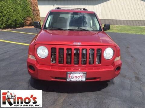 2008 Jeep Patriot for sale at Rino's Auto Sales in Celina OH