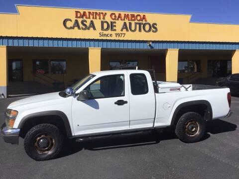 2008 Chevrolet Colorado for sale at CASA DE AUTOS, INC in Las Cruces NM