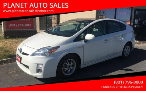 2011 Toyota Prius for sale at PLANET AUTO SALES in Lindon UT