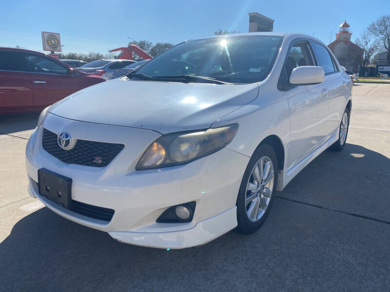 2009 Toyota Corolla for sale at Houston Auto Gallery in Katy TX