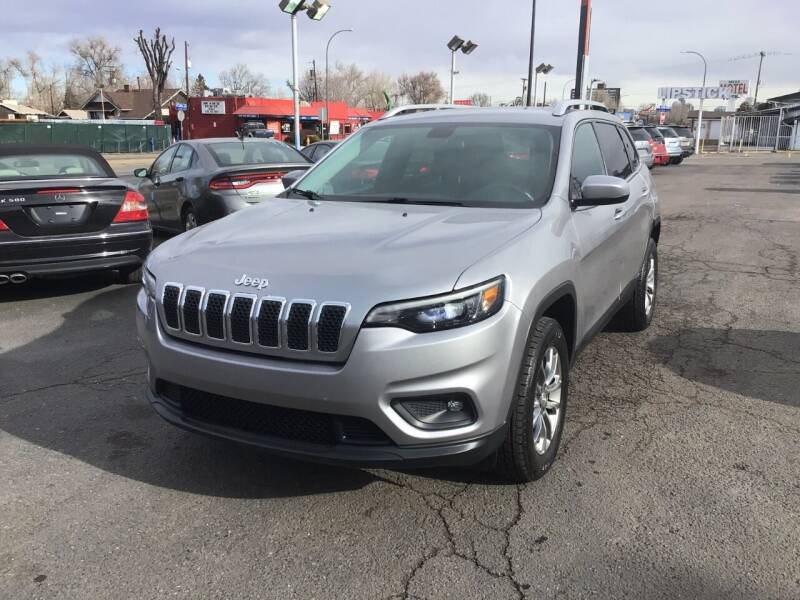 2019 Jeep Cherokee for sale at A & B Auto in Lakewood CO