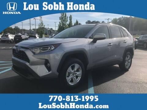 2019 Toyota RAV4 Hybrid for sale at Lou Sobh Honda in Cumming GA