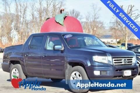 2012 Honda Ridgeline for sale at APPLE HONDA in Riverhead NY