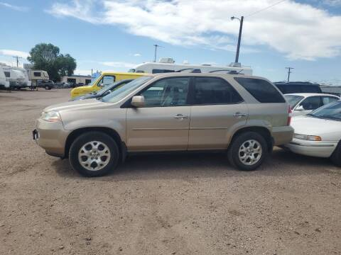 2002 Acura MDX for sale at PYRAMID MOTORS - Fountain Lot in Fountain CO