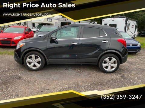 2016 Buick Encore for sale at Right Price Auto Sales in Waldo FL