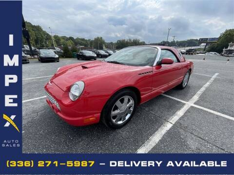 2002 Ford Thunderbird for sale at Impex Auto Sales in Greensboro NC