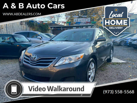 2011 Toyota Camry for sale at A & B Auto Cars in Newark NJ