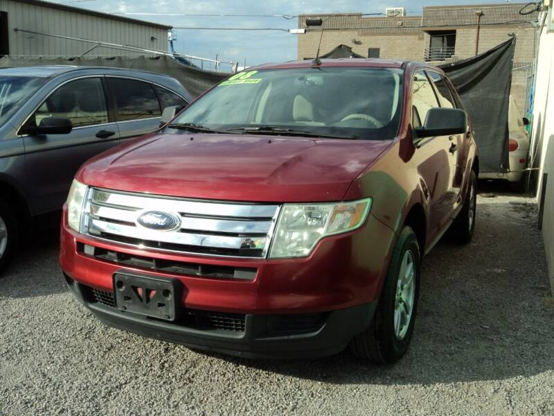 2008 Ford Edge for sale at DESERT AUTO TRADER in Las Vegas NV