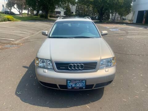 2001 Audi A6 for sale at Sanchez Auto Sales in Newark CA