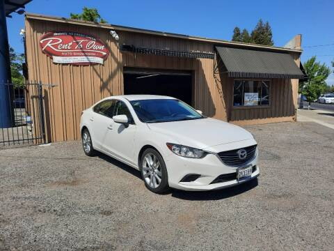 2016 Mazda MAZDA6 for sale at Rent To Own Auto Showroom LLC - Finance Inventory in Modesto CA