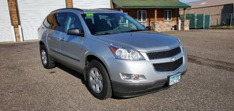 2011 Chevrolet Traverse for sale at Transmart Autos in Zimmerman MN