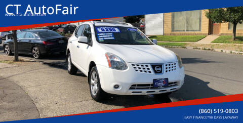 2010 Nissan Rogue for sale at CT AutoFair in West Hartford CT