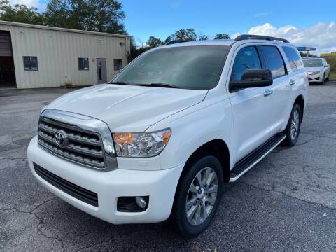2016 Toyota Sequoia for sale at Brewster Used Cars in Anderson SC