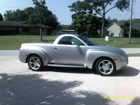 2004 Chevrolet SSR for sale at Classic Car Deals in Cadillac MI