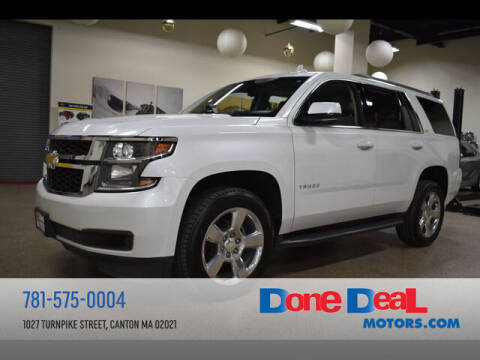 2017 Chevrolet Tahoe for sale at DONE DEAL MOTORS in Canton MA