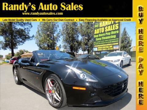 2016 Ferrari California T for sale at Randy's Auto Sales in Ontario CA