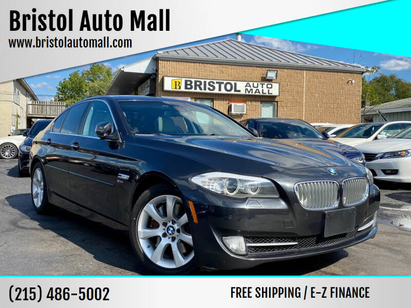 2011 BMW 5 Series for sale at Bristol Auto Mall in Levittown PA