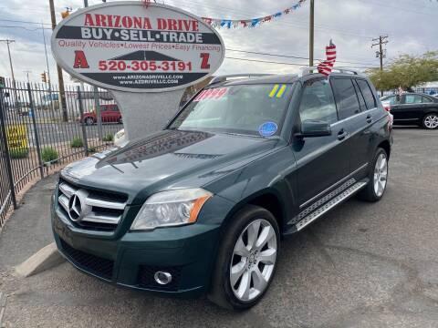 2011 Mercedes-Benz GLK for sale at Arizona Drive LLC in Tucson AZ