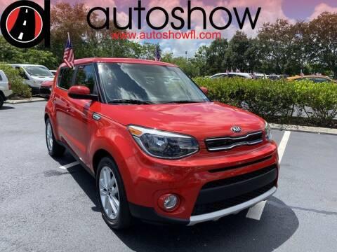 2019 Kia Soul for sale at AUTOSHOW SALES & SERVICE in Plantation FL