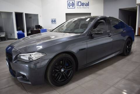 2016 BMW 5 Series for sale at iDeal Auto Imports in Eden Prairie MN