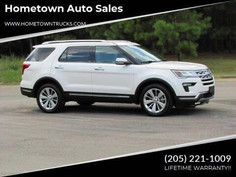 2019 Ford Explorer for sale at Hometown Auto Sales - SUVS in Jasper AL