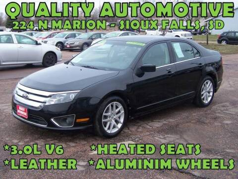2012 Ford Fusion for sale at Quality Automotive in Sioux Falls SD