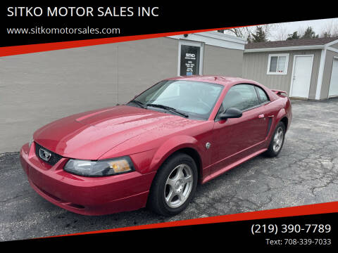 2004 Ford Mustang for sale at SITKO MOTOR SALES INC in Cedar Lake IN