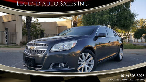 2013 Chevrolet Malibu for sale at Legend Auto Sales Inc in Lemon Grove CA