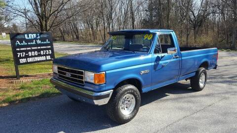 1990 Ford F-150 for sale at LMJ AUTO AND MUSCLE in York PA