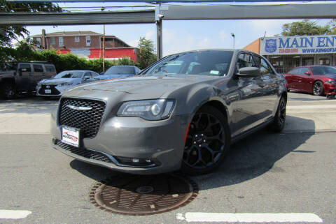 2019 Chrysler 300 for sale at MIKEY AUTO INC in Hollis NY