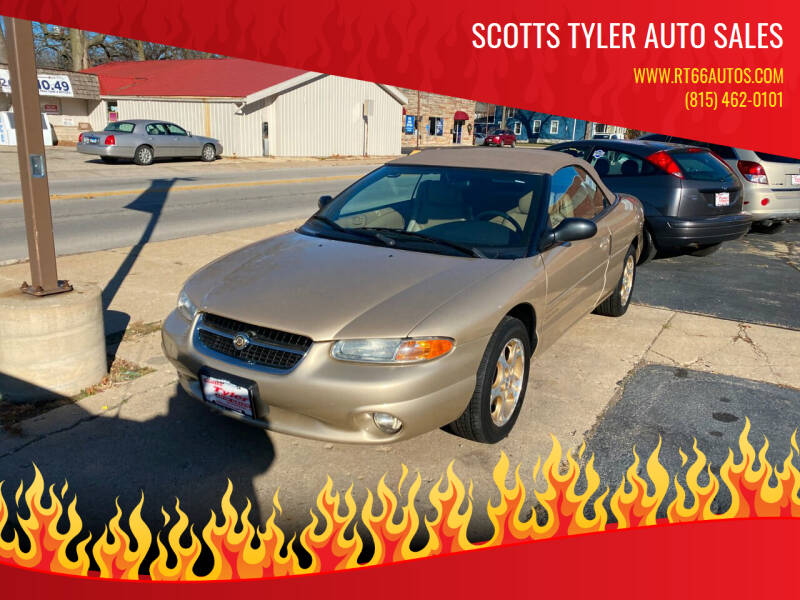 1998 Chrysler Sebring for sale at Scotts Tyler Auto Sales in Wilmington IL