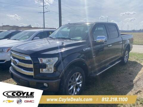 2017 Ford F-150 for sale at COYLE GM - COYLE NISSAN in Clarksville IN