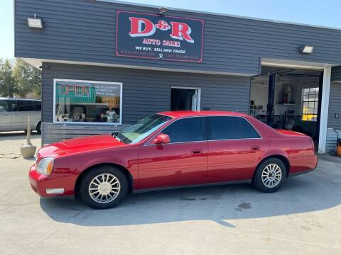 2005 Cadillac DeVille for sale at D & R Auto Sales in South Sioux City NE