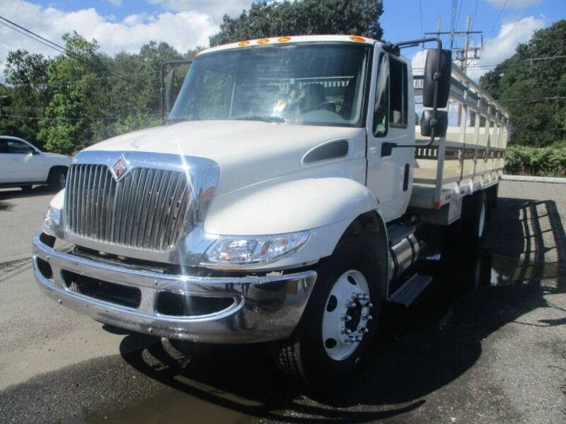 2005 International 4300 for sale at Lynch's Auto - Cycle - Truck Center - Trucks and Equipment in Brockton MA