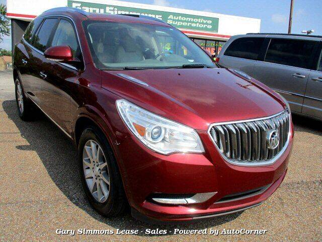 2016 Buick Enclave for sale at Gary Simmons Lease - Sales in Mckenzie TN